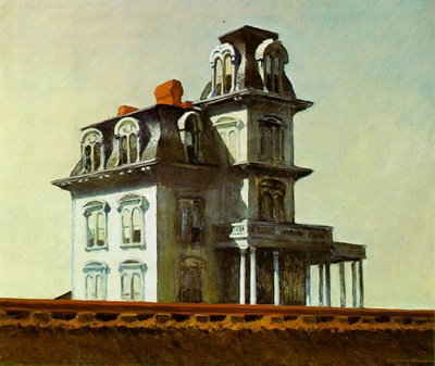 Edward Hopper, House by the railroad