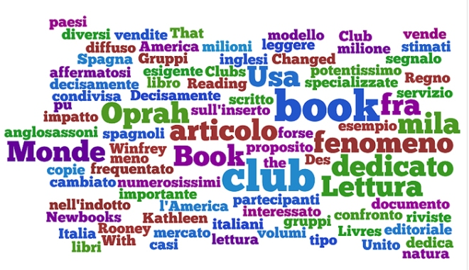 word cloud gruppi di lettura