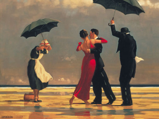 The Singing Butler, Jack Vettriano