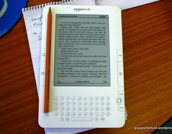 Kindle, dimensioni contenute