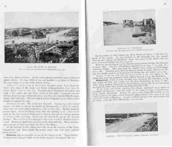 Nelle immagini si vede anche l'auto usata dai redattori della guida per andare sul posto e scattare le foto