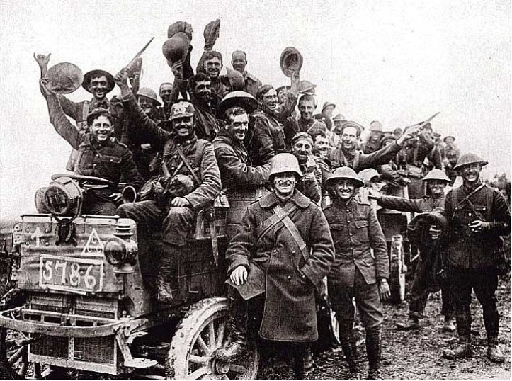 Soldati canadesi sul fronte occidentale