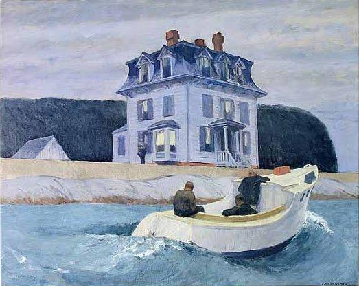 The Bootleggers, Edward Hopper