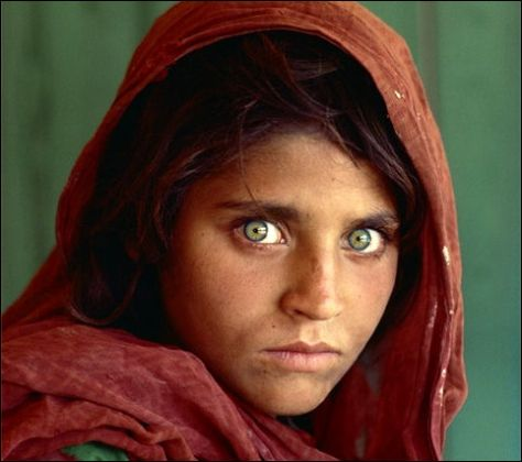 Ragazza afghana - Steve McCurry