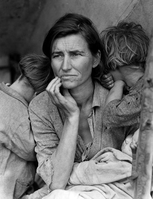 Dorothea Lange, Migrant Mother (Wikipedia)