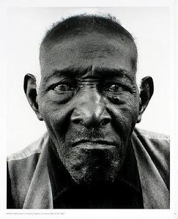 "Richard Avedon, ""William Casby, born a slave, 1963"""