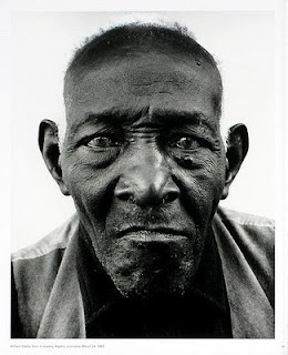 "Richard Avedon, ""William Casby, born a slave, 1963"""