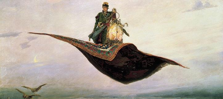 Il tappeto magico, Wikimedia Commons
