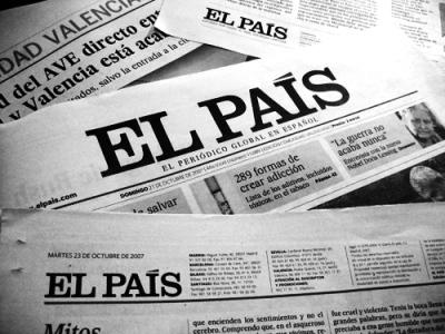 Noticia en El País La humanidad del vidrio