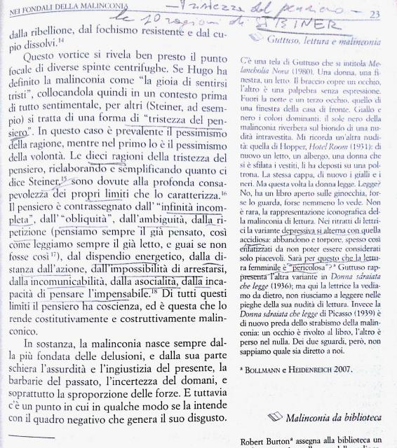 Una pagina del libro di Luca Ferrieri, Olschki Editore