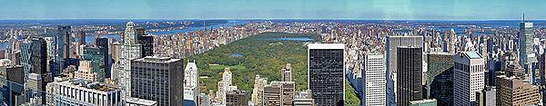 Manhattan, dal Rockefeller Center, New York