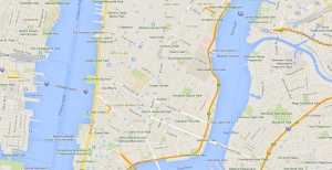 New York City, Google Map