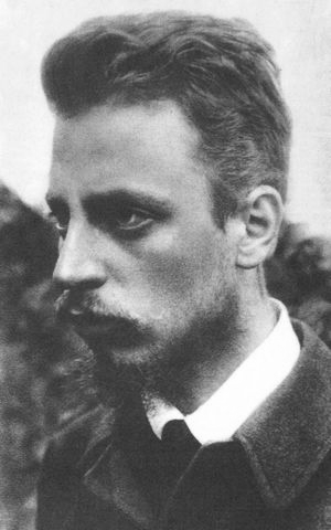 Rainer Maria Rilke (Wikimedia Commons)