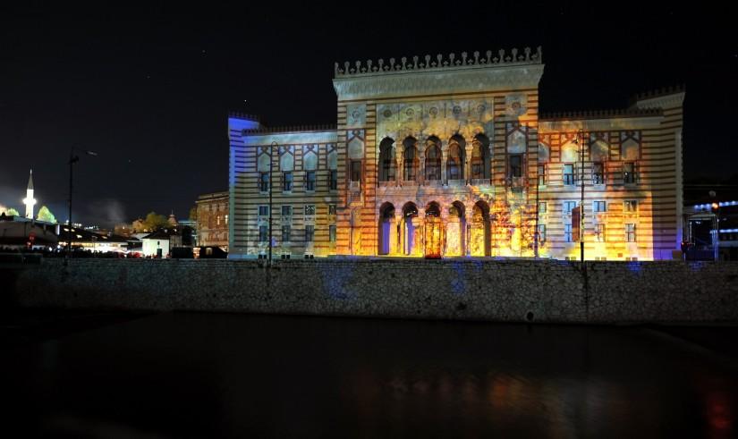 La biblioteca di Sarajevo tra speranza eamarezza