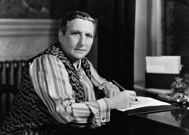Gertrude Stein (da writersatwork.pfauth.com)