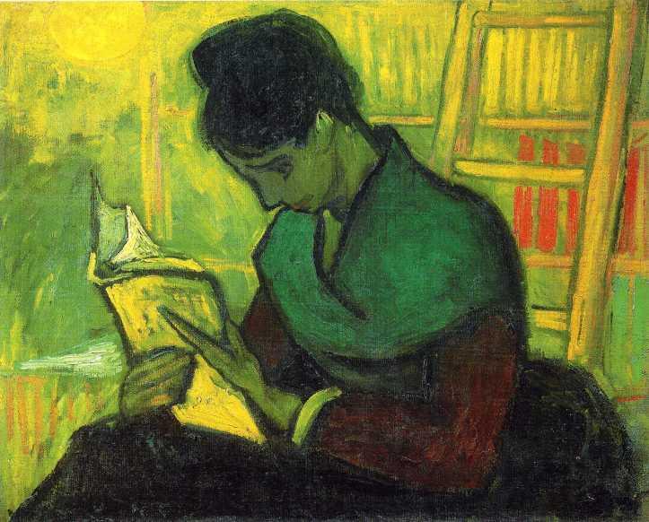 Liseuse de Roman (Lettrice di romanzo), di Vincent Van Gogh (1888)