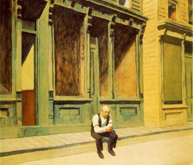 Edward Hopper, Sunday, 1926