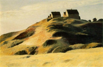 Edward Hopper, Corn Hill, (Truro, Cape Cod), 1930