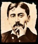 Marcel Proust. 1900, Wikimedia Commons, elaborazione Pixlr