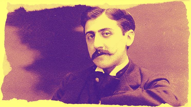 Marcel Proust, elaborazione Pixlr