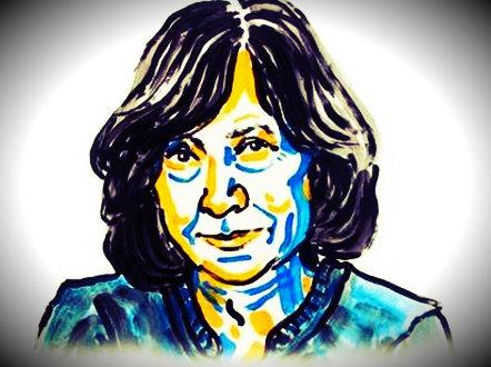 Svetlana Aleksievic, premio nobel per la letteratura 2015