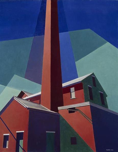 Charles Sheeler, Ballardvalem 1946