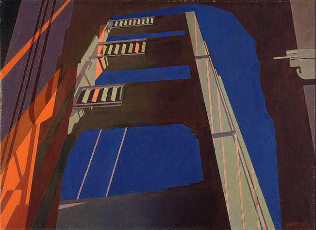 Charles-Sheeler-GoldenGate-1955