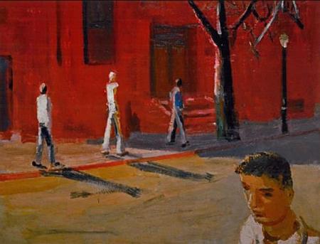 David Park, Boston Street Scene, 1954