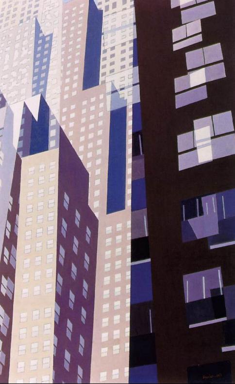 Charles Sheeler, Windows, 1952