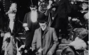 Marcel Proust, 1904, fermo immagine di un filmato pubblicato nel febbraio del 2017