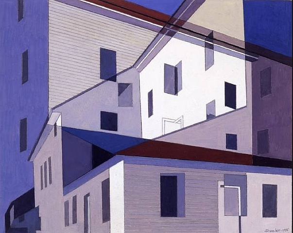 On A Shaker Theme #2, Charles Sheeler data sconosciuta