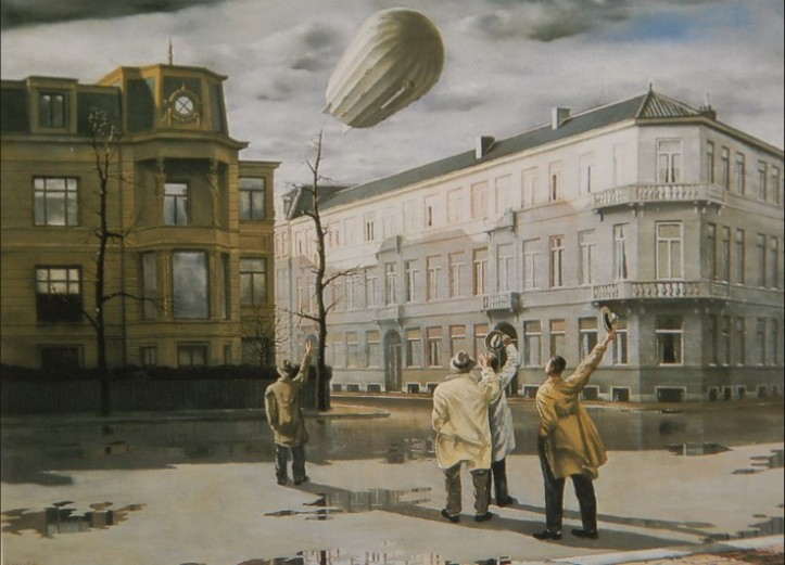 The Blimp, Carel Willink · 1933