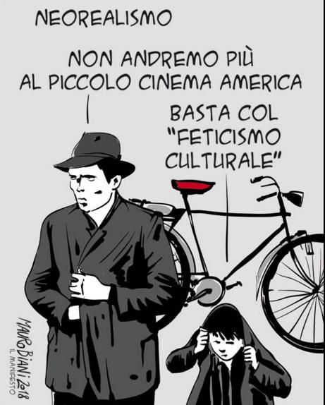 Mauro Biani, il Manifesto