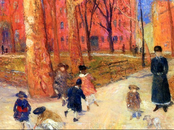 William James Glackens, 29 Washington Square, 1911