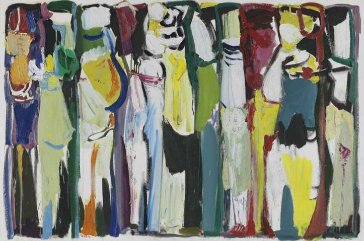 Paul Guiragossian, La Grande Marche (1987)