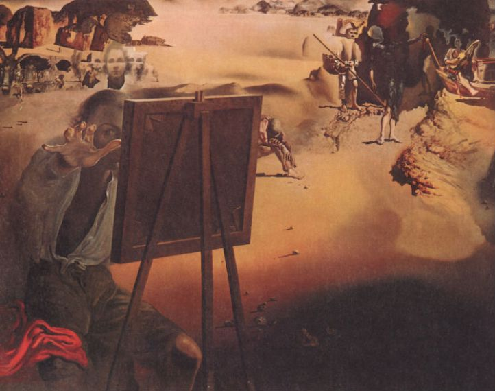 Salvador Dali, Impression of Africa (1938)