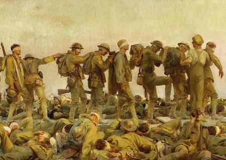 John Singer Sargent, Gassed, 1919