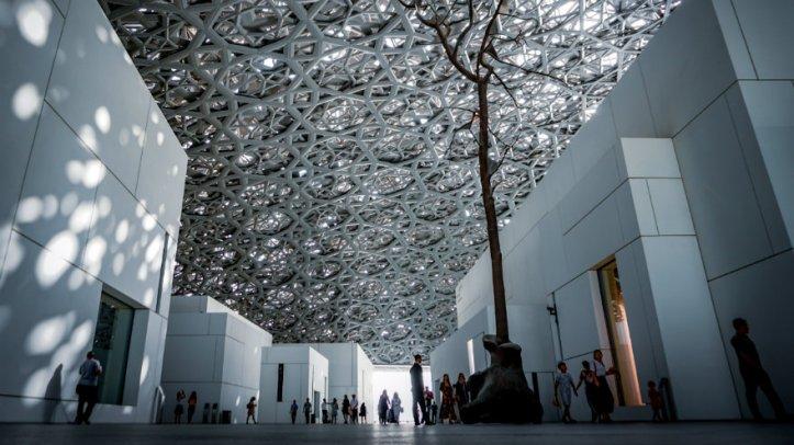 Louvre di Abu Dhabi, foto di Agnieszka Kowalczyk