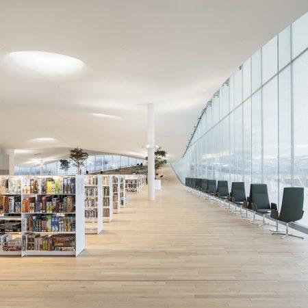 Oodi, la biblioteca centrale di Helsinki, Foto: Tuomas Uusheimo.