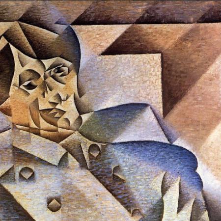 Juan Gris, Ritratto di Pablo Picasso, 1912 (WikiArt, Public domain)