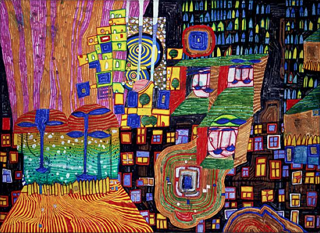 992 City View Friedensreich Hundertwasser (1994)