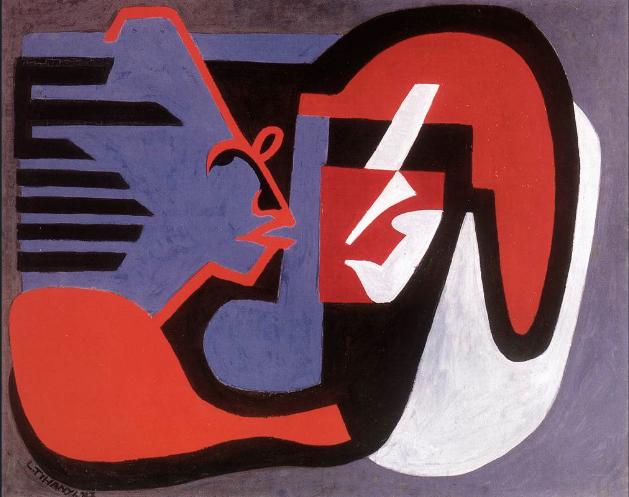 Lajos Tihanyi, Chatting (1928)